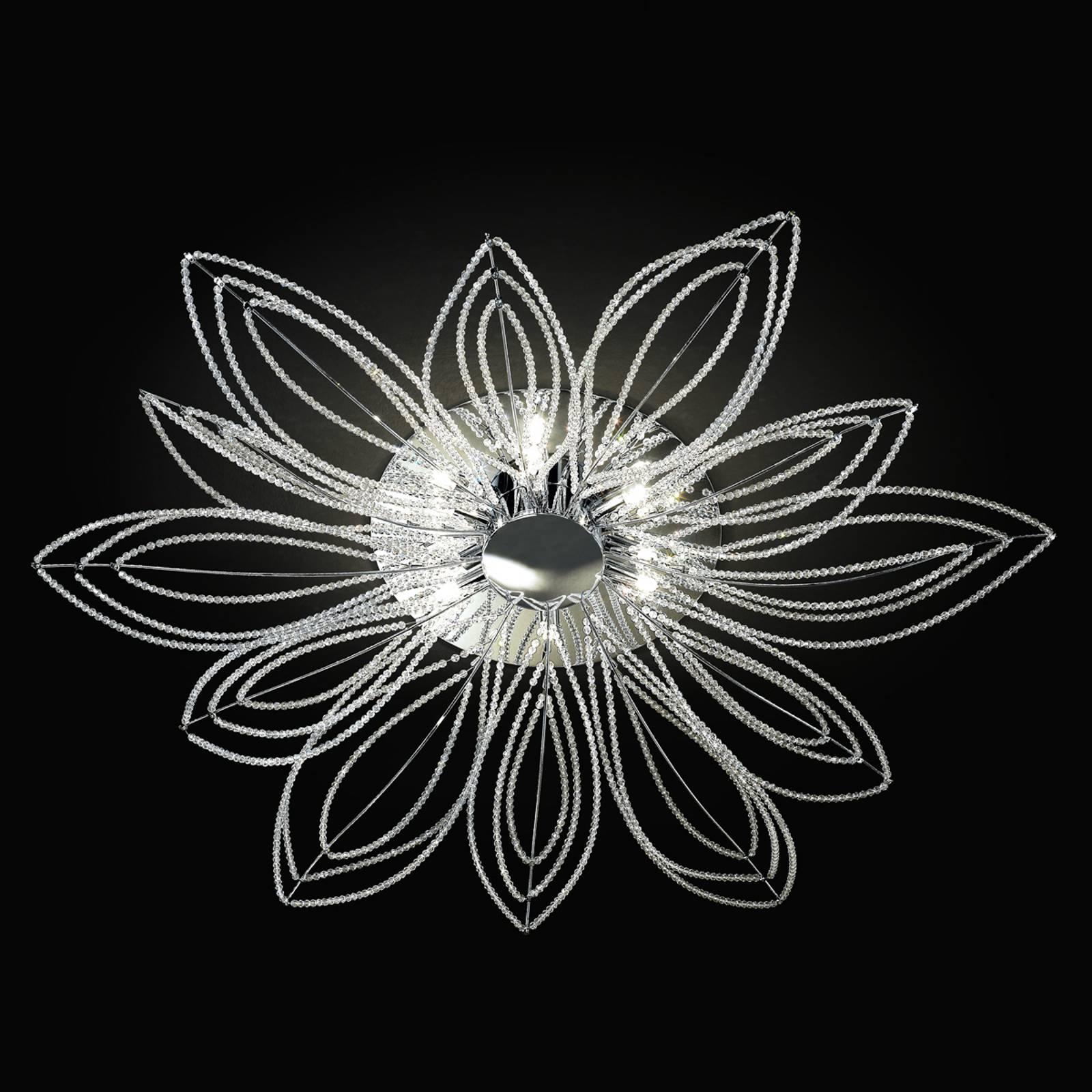 Girasole taklampe i blomsterform, 98 cm