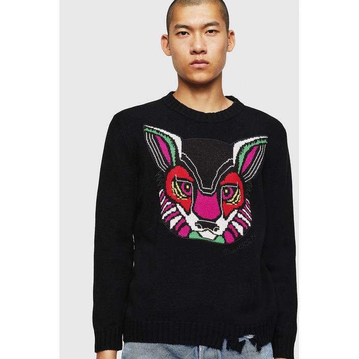 Diesel Men's Sweater Black 312531 - black S
