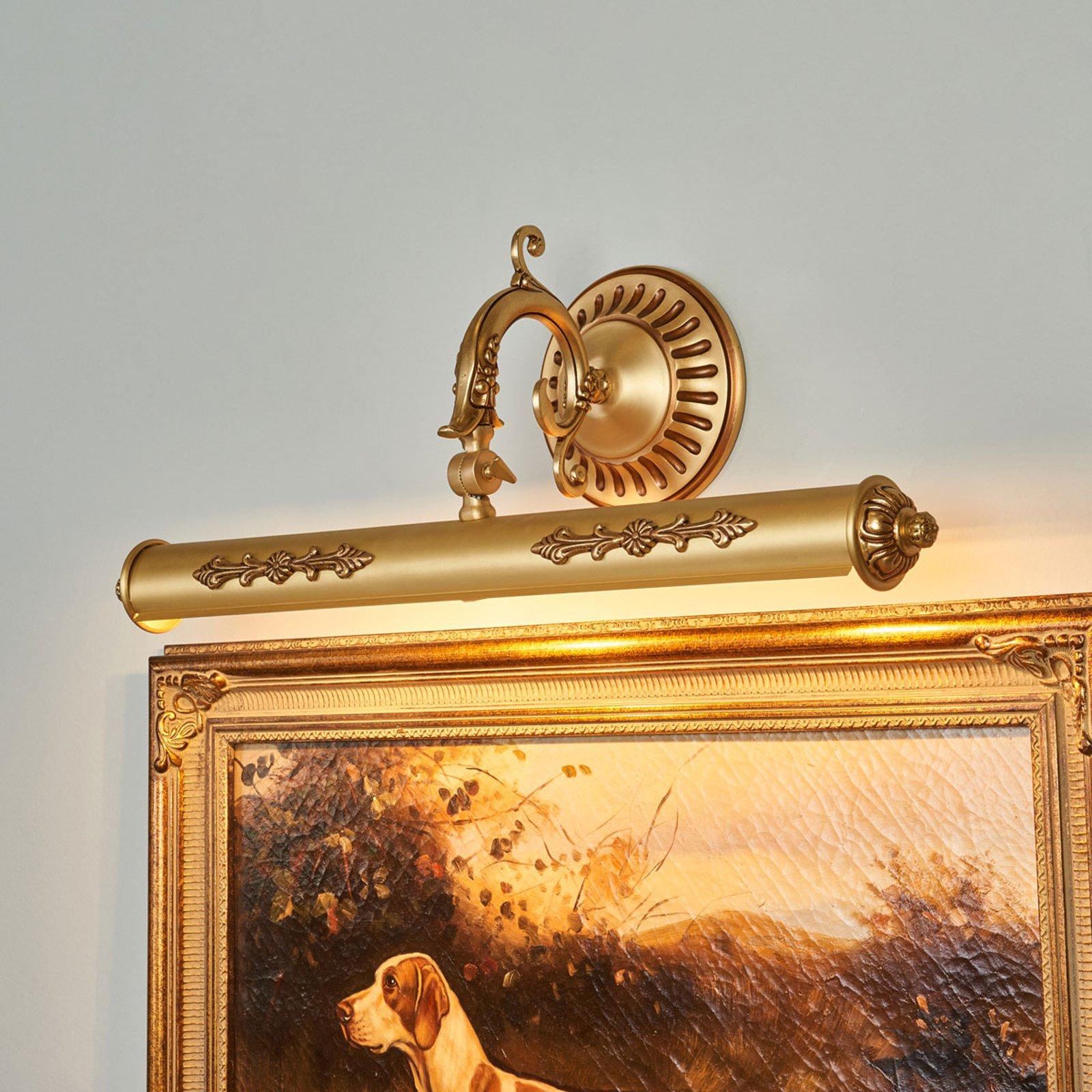 Bildelampe Eligio med flott dekorasjon, 55 cm
