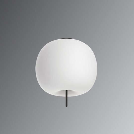 Kundalini Kushi - LED-kattovalo musta 33 cm