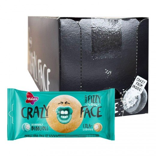 Crazy Face Fizzy Storpack - 3,25 kg