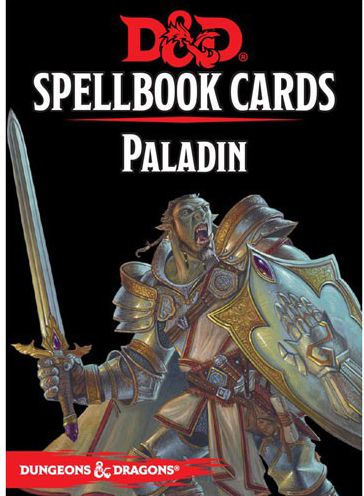 Dungeons & Dragons - 5th Edition - Spell Deck Paladin (69 cards) (D&D) (English)