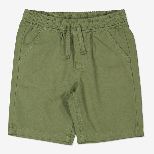 Vevde shorts grønn