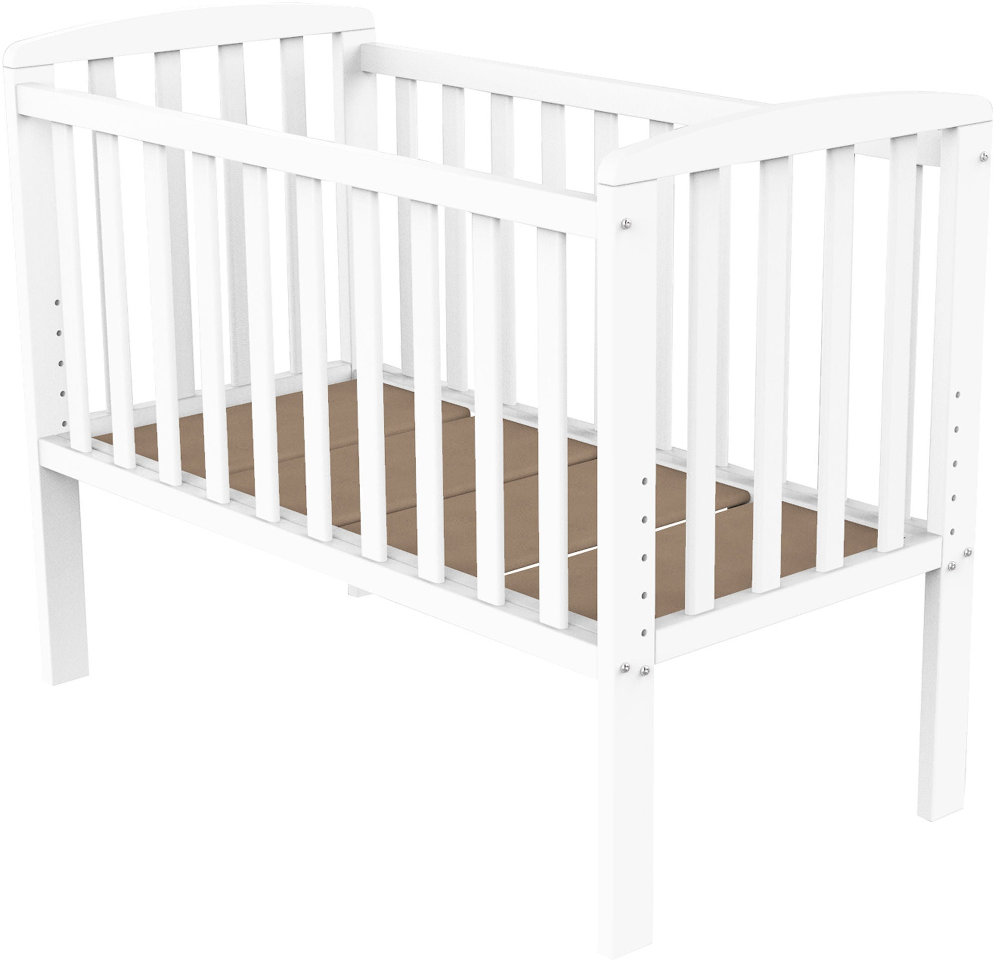 BabyDan Bedside Crib Sofie by My Side, Valkoinen