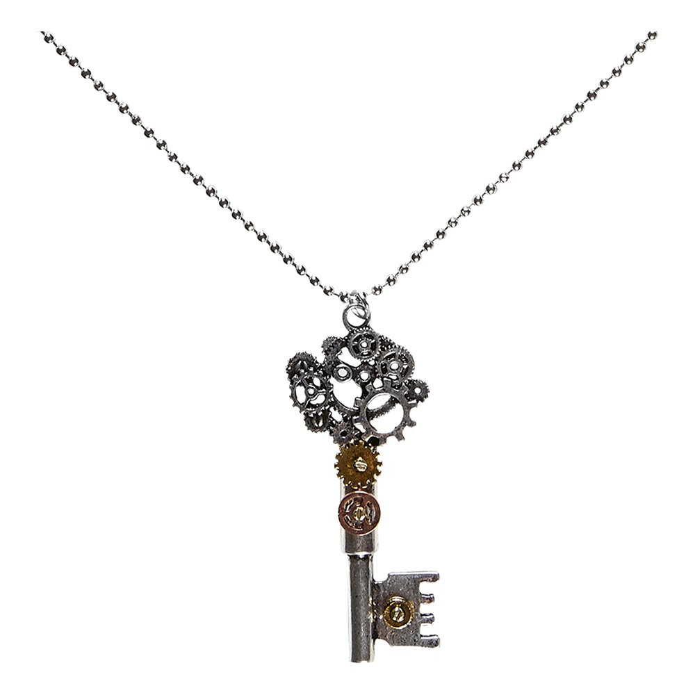 Halsband Steampunk Nyckel