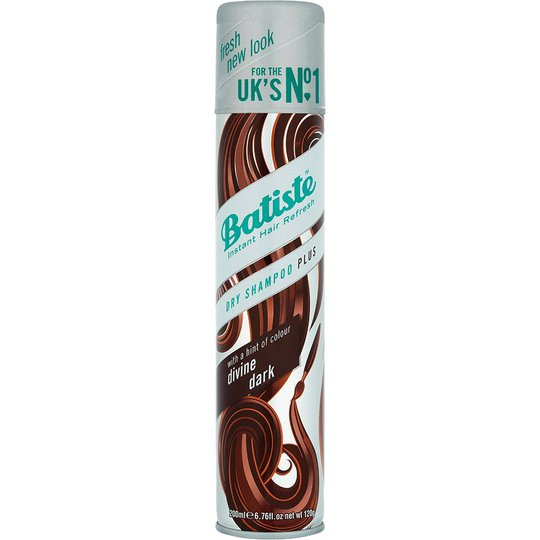 Batiste Coloured Dry Shampoo Dark & Deep Brown, 200 ml Batiste Kuivashampoo
