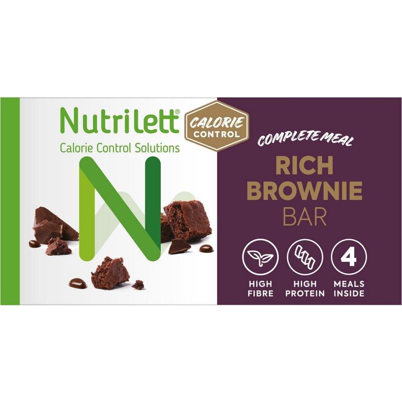 Måltidsersättningsbar Rich Brownie 4-pack - 30% rabatt