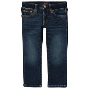 Ralph Lauren Union Wash Stretch Skinny Pull Up Jeans Blå 2 years