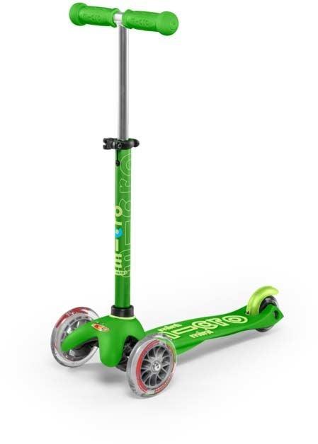 Micro Sparkcykel Mini Deluxe, Grön
