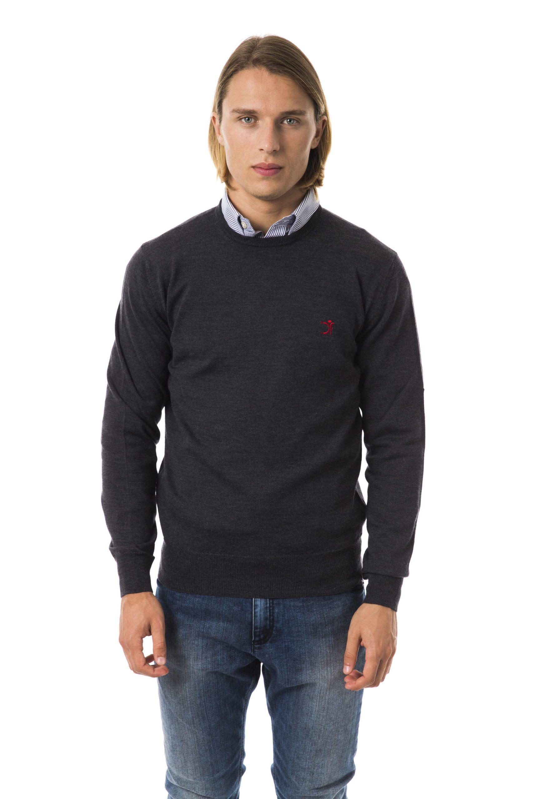 Uominitaliani Men's Antr Sweater Gray UO816642 - XS