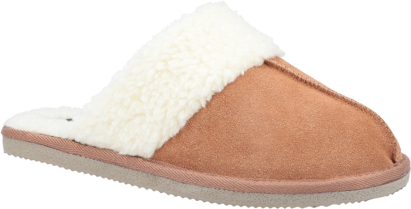 Hush Puppies Women's Arianna Mule Slippers Various Colours 31183 - Tan 3