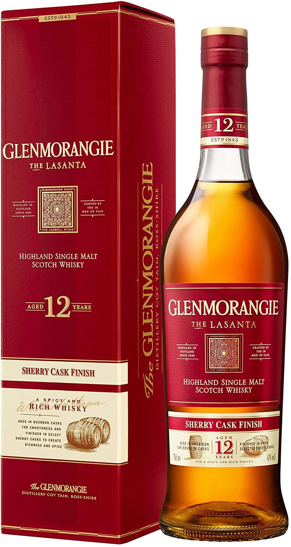 Glenmorangie Lasanta 12 Year Old Single Malt Scotch Whisky 70cl