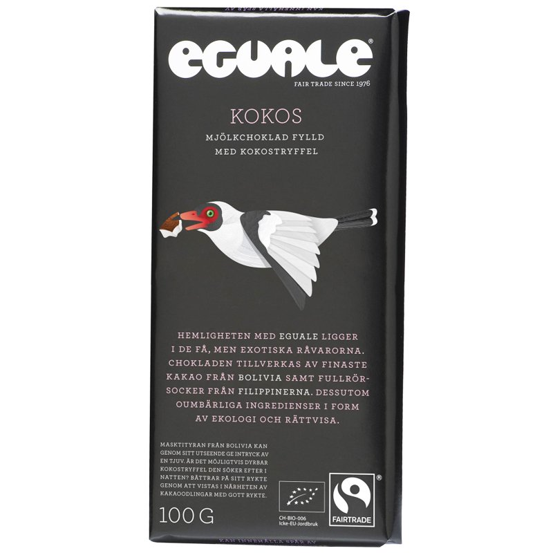 Eko Mjölkchoklad Kokos - 29% rabatt