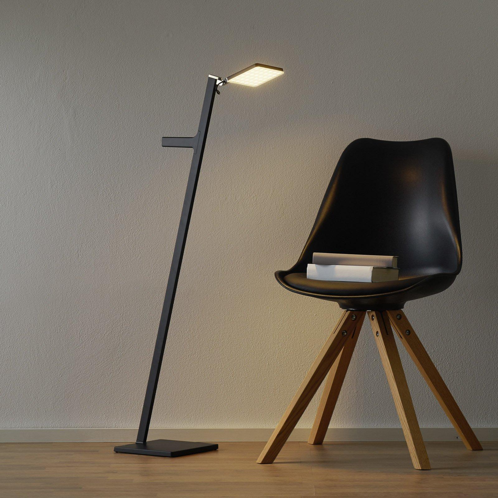 Nimbus Roxxane Leggera LED-gulvlampe, svart