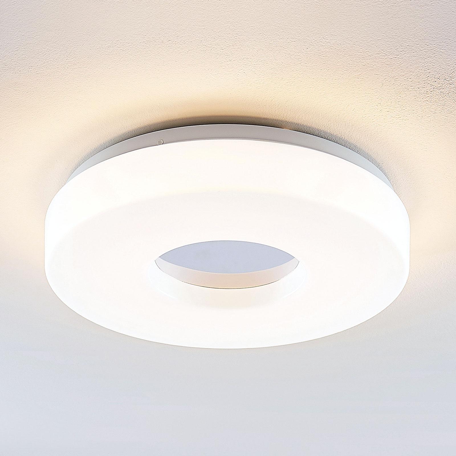 Lindby Florentina LED-kattolamppu, rengas, 34,5 cm