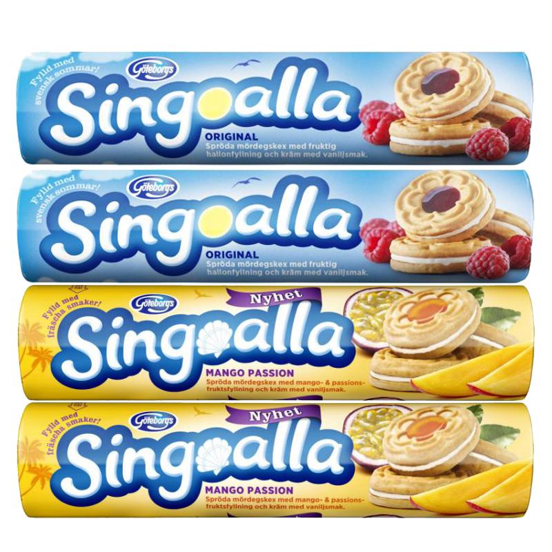 Singoalla Paketet 4 x 190g - 83% rabatt