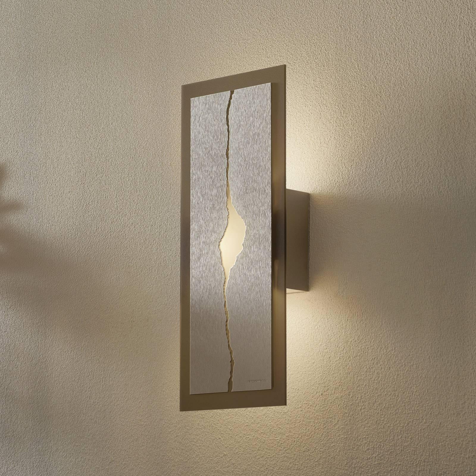 GROSSMANN Canyon -LED-seinävalaisin, 42 x 18 cm