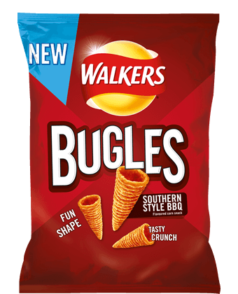 Walkers Bugles Southern Style BBQ 110g