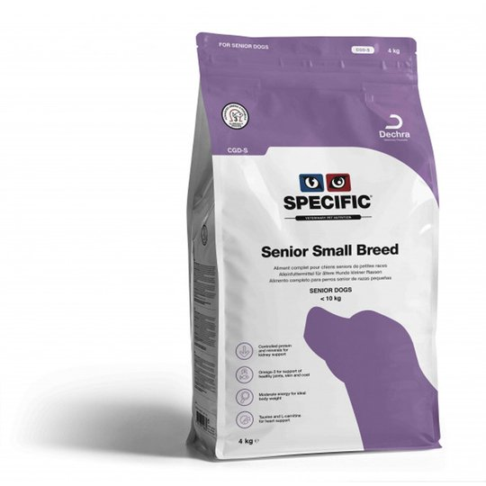 Specific™ Senior Small Breed CGD-S (4 kg)