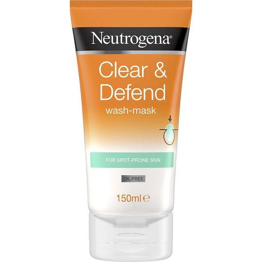 Neutrogena Clear & Defend Wash-Mask, 150 ml Neutrogena Kasvonaamiot