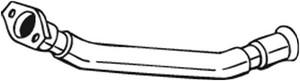 Pakoputki, Keskellä, PEUGEOT 206 Halvkombi, 1705Z2, 1705Z4