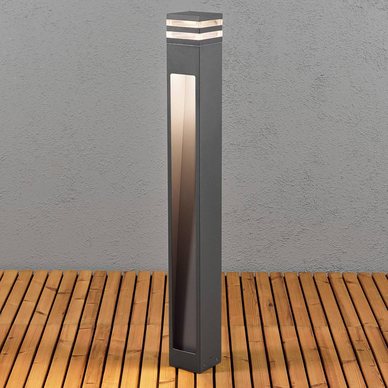 Kapea LED-pylväsvalaisin Massa
