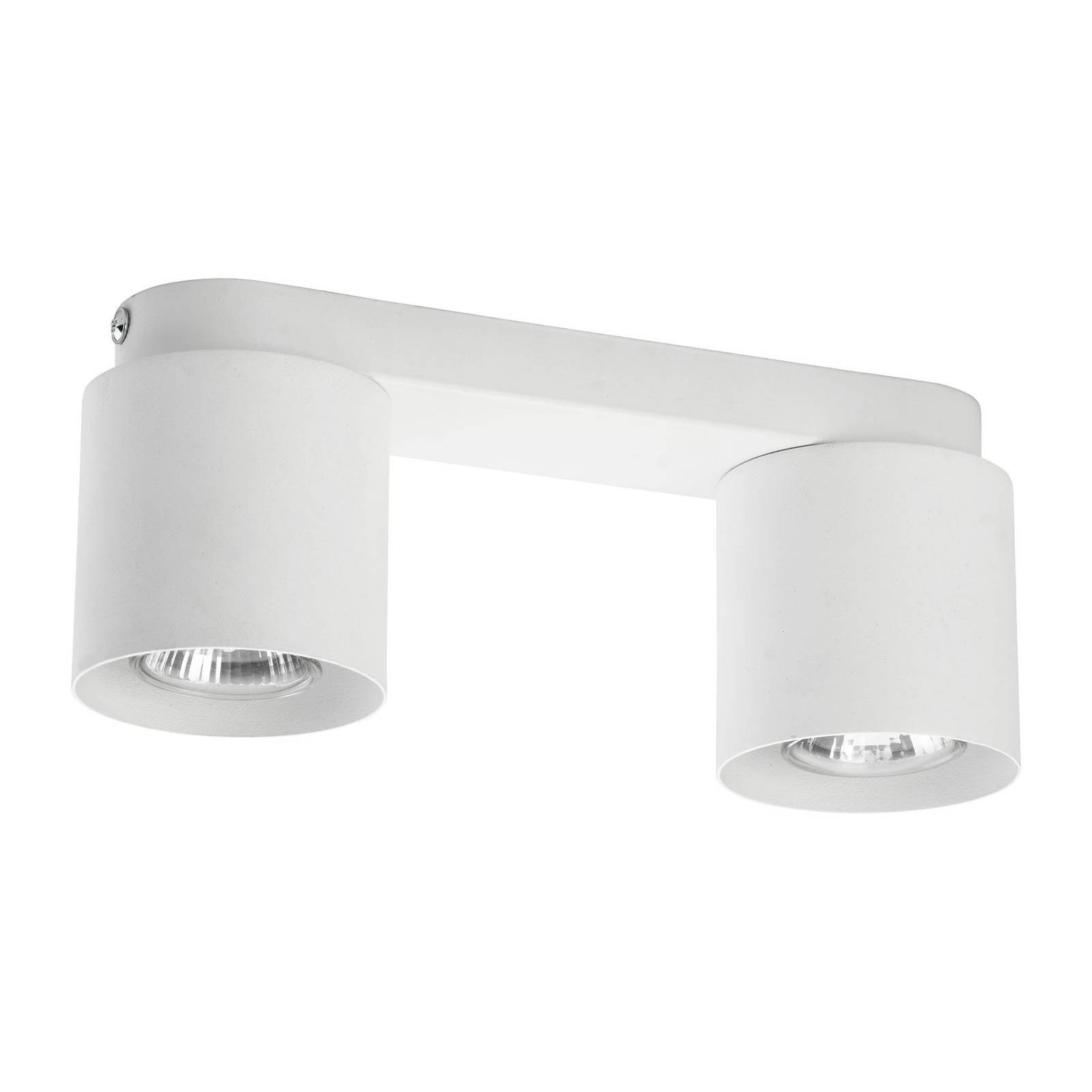 Kattovalaisin Vico, 2-lamppuinen, valkoinen