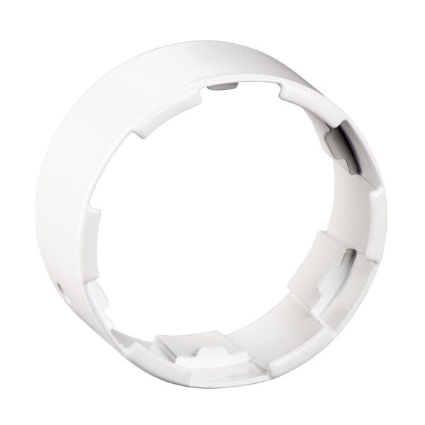 Schneider Electric ISM20805P Røradapter til nedføringsprofil, hvit