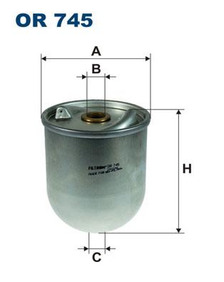 Öljynsuodatin FILTRON OR 745