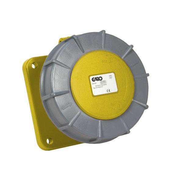 Garo UIV 2125-4 S Paneelin ulostulo IP67, 3-napainen, 125A Keltainen, 4 h