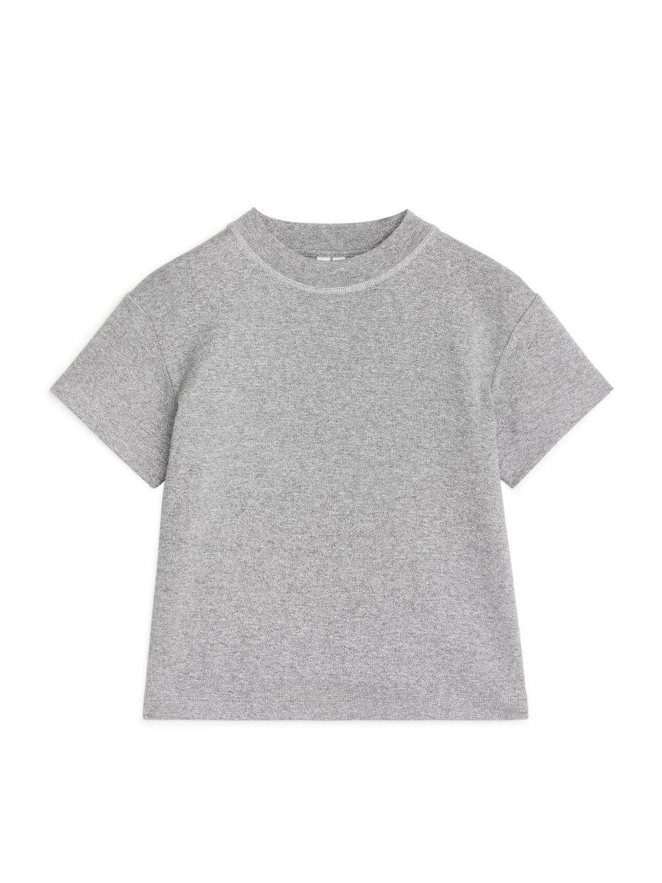 Glittery T-Shirt - Grey