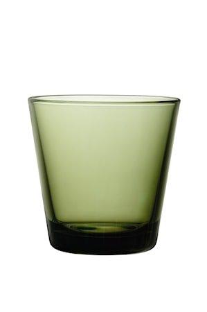 Kartio Glass 21 cl Mosegrønn 2-pakning