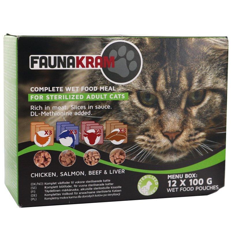 Kissanruoka 12kpl - 25% alennus