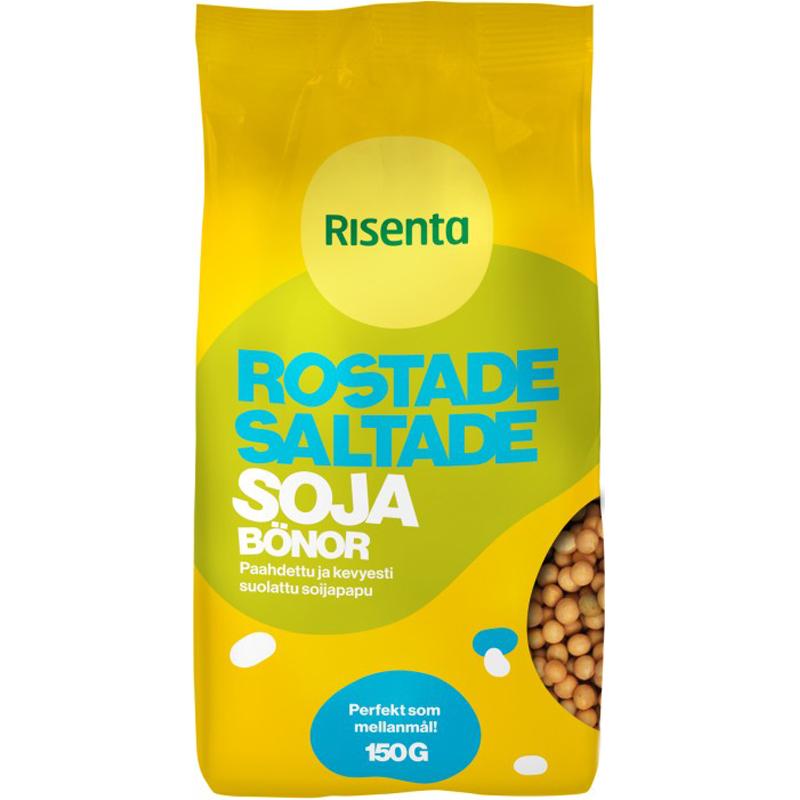 Sojabönor Rostade & Saltade 150g - 28% rabatt