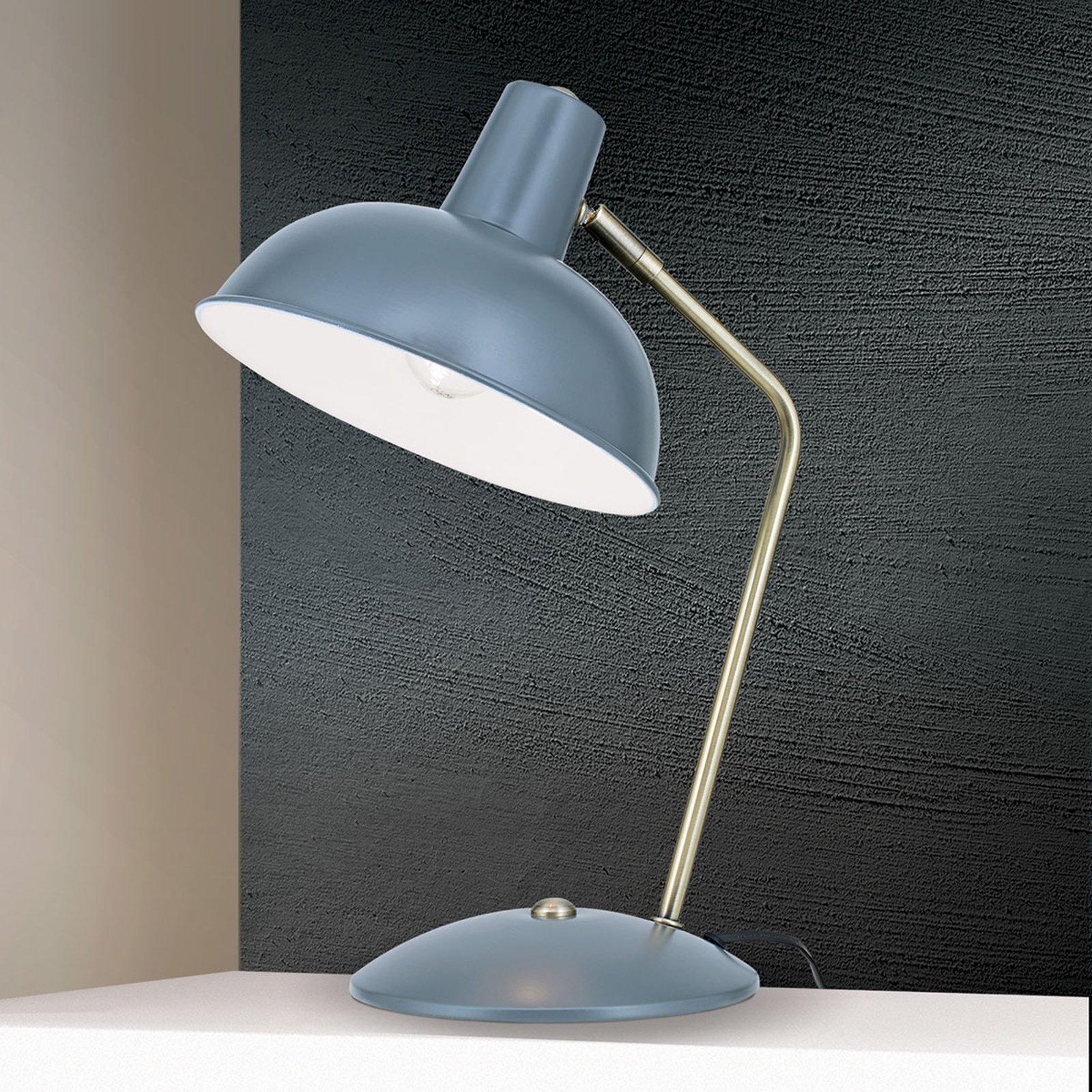 I vintagestil - bordlampe Fedra grønn