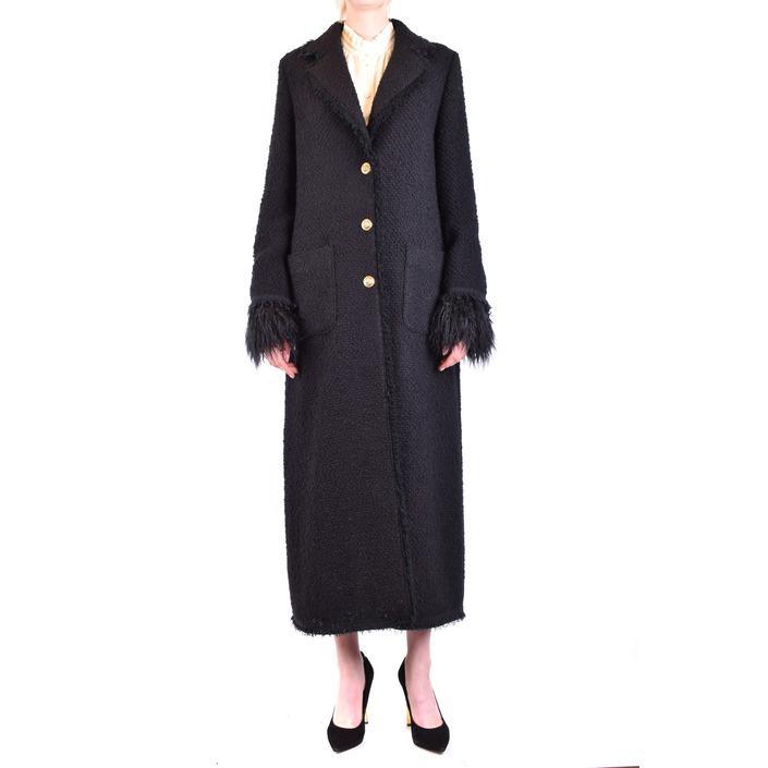 Pinko Women's Coat Black 213057 - black 44