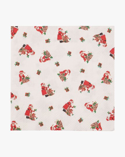Paperiservetit, Little Santa