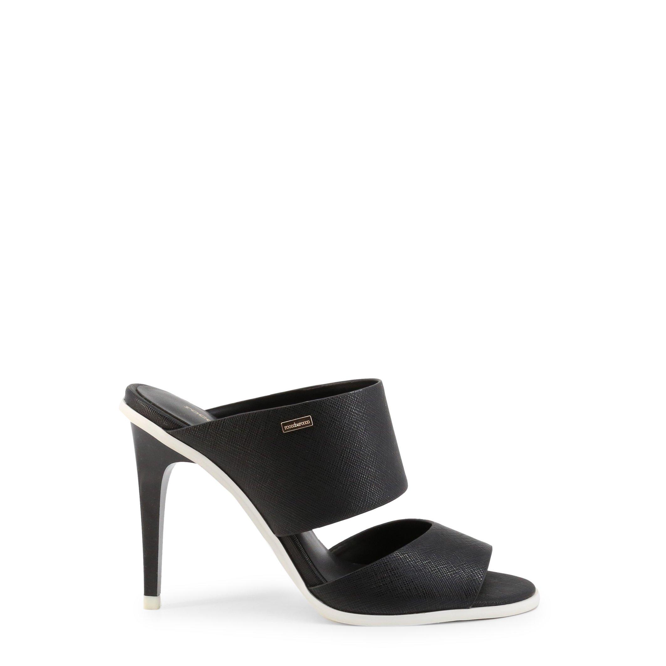 Roccobarocco Women's Sandal Various Colours ROSC12181 - black EU 36
