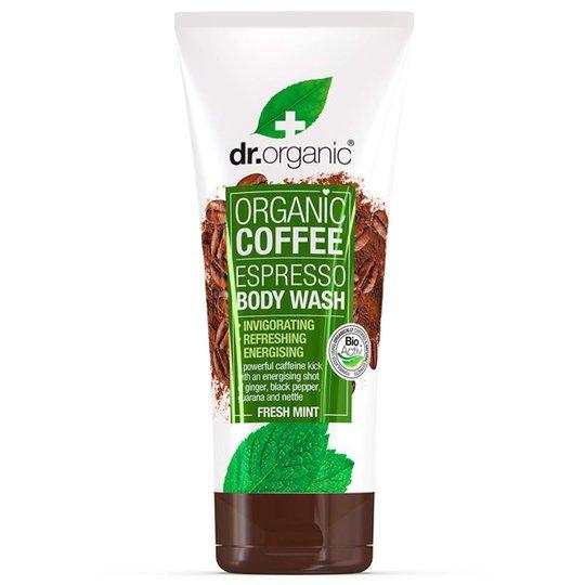 Dr. Organic Coffee Mint Body Wash, 200 ml