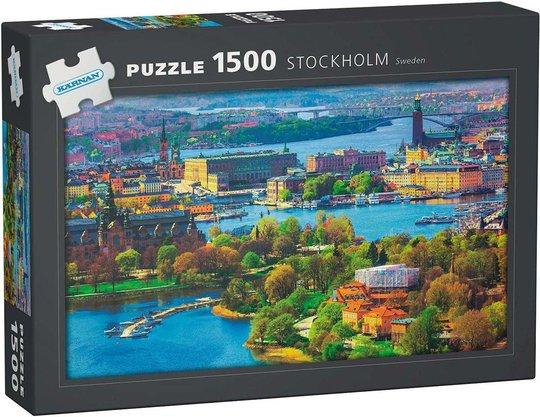 Kärnan Stockholm Puslespill 1500 Brikker