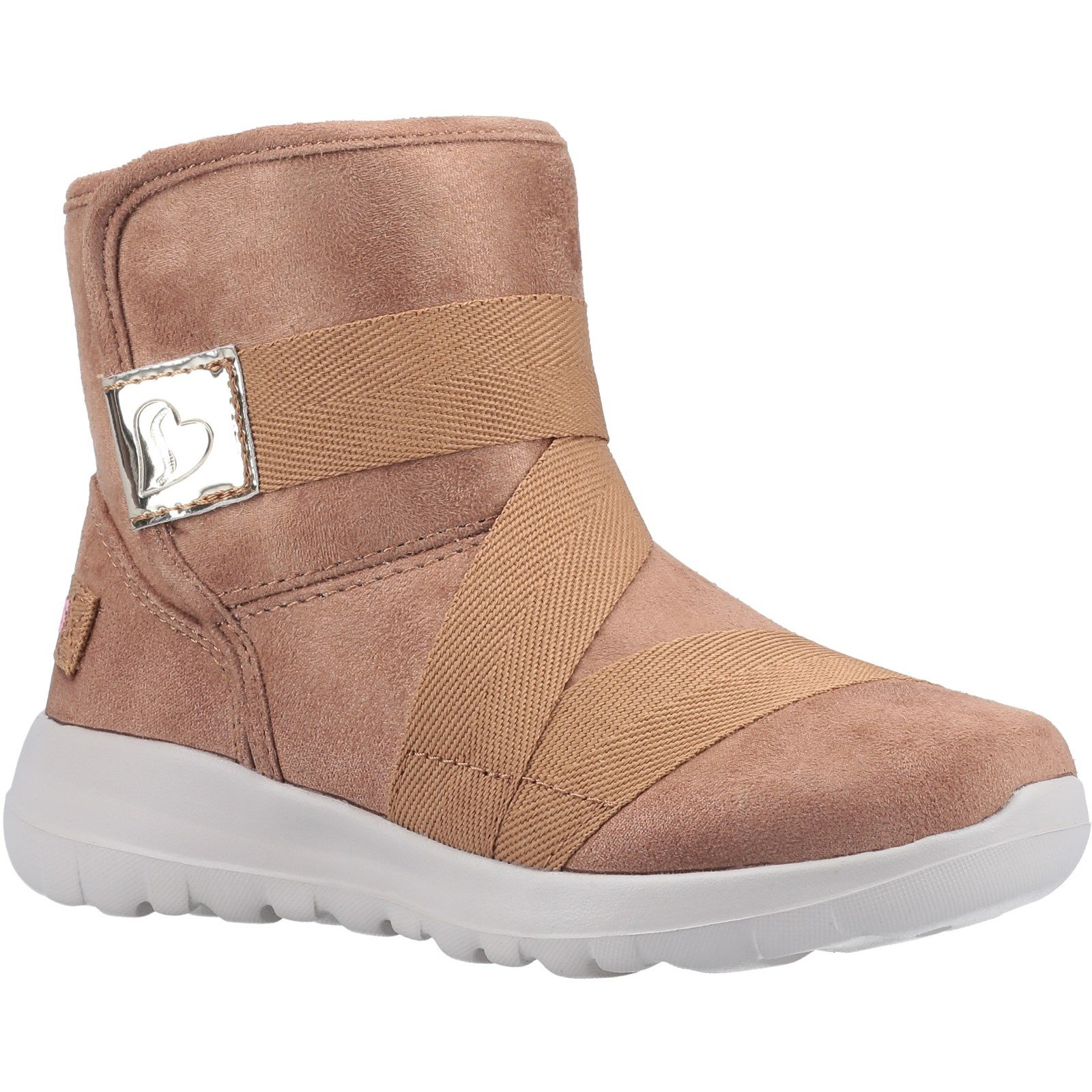 Skechers Unisex Go Walk Joy Strong Willed Ankle Boot Chestnut 31167 - Chestnut 9.5