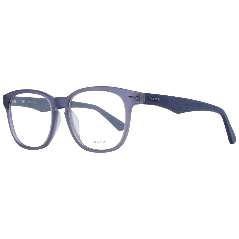 Police Men's Optical Frames Eyewear Blue VPL392 52955M
