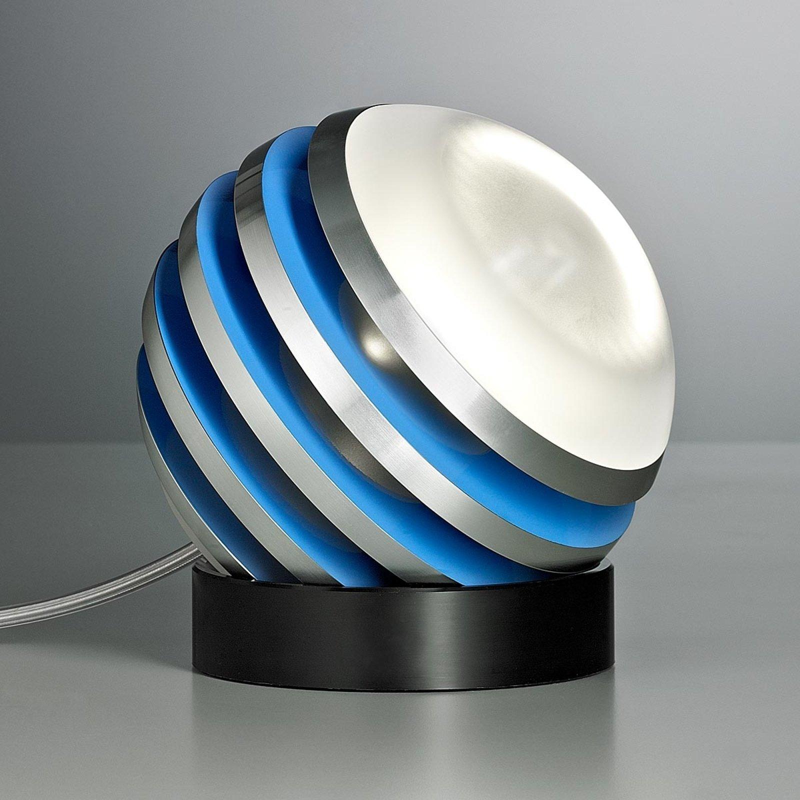 Original LED-bordlampe BULO lysblå