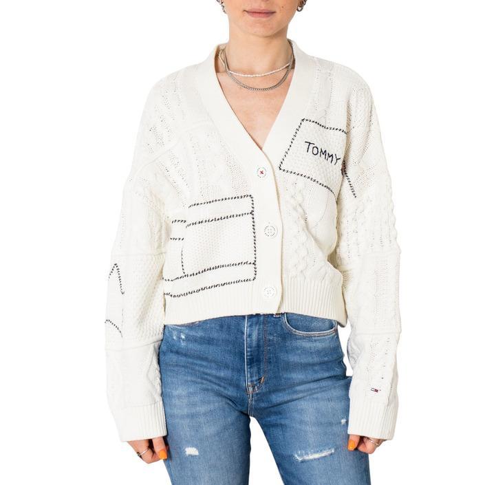 Tommy Hilfiger Jeans Women's Sweater White 308499 - white XXS