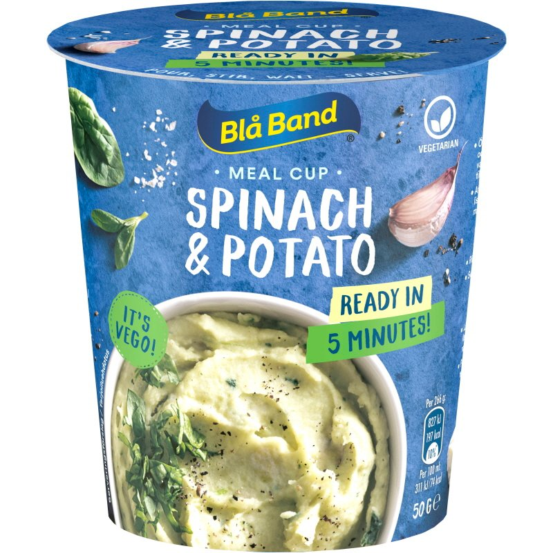 Meal Cup Spinach & Potato - 32% alennus