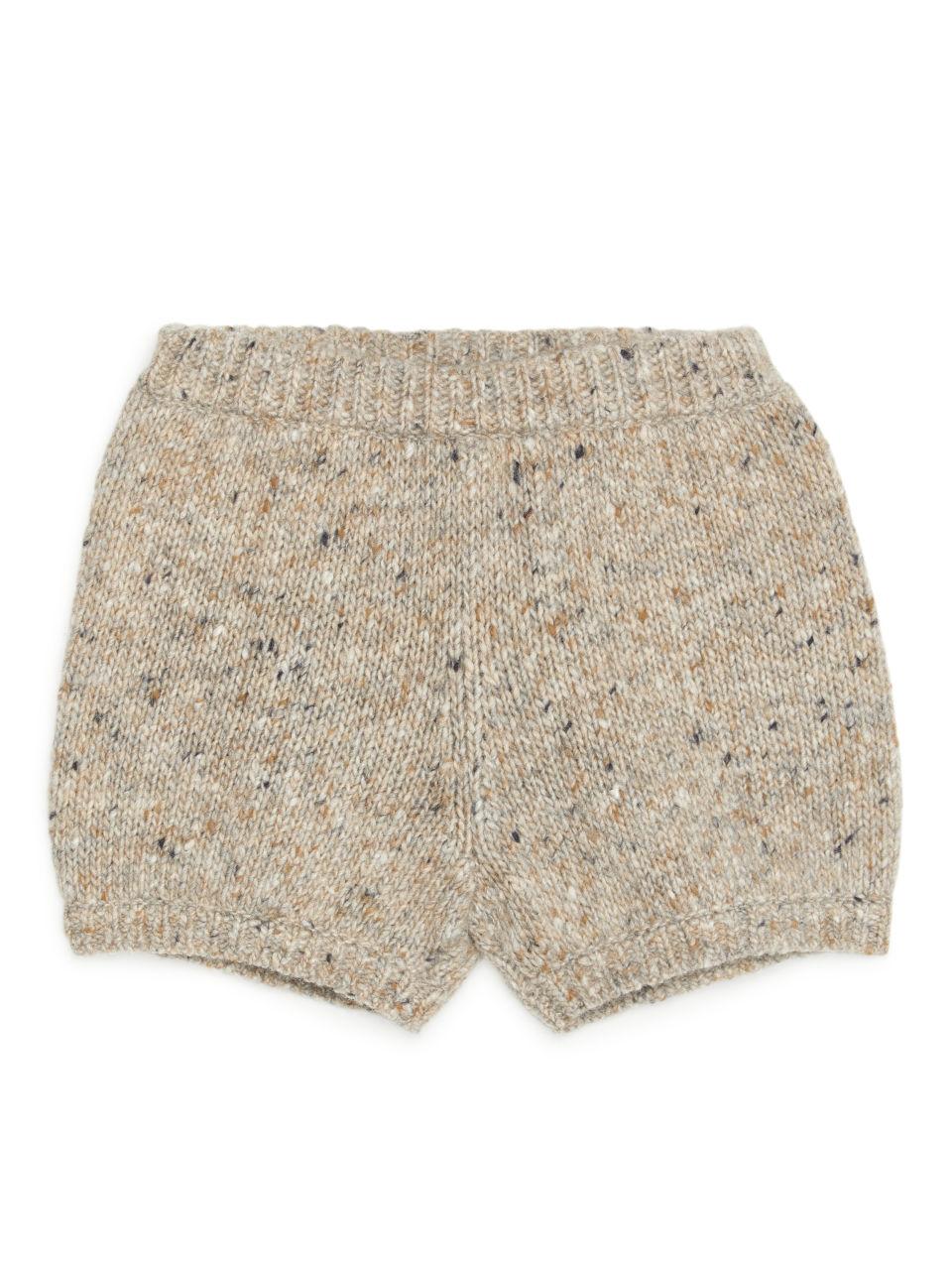 Merino Wool Bloomers - Beige