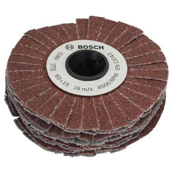 Bosch DIY 1600A00154 Hiomarulla joustava, 15 mm K80