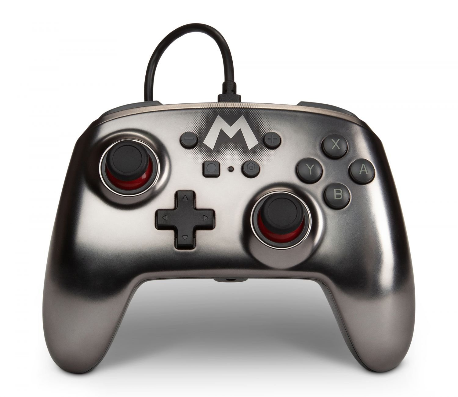 PowerA Nintendo Switch Enh Wired Controller - Silver
