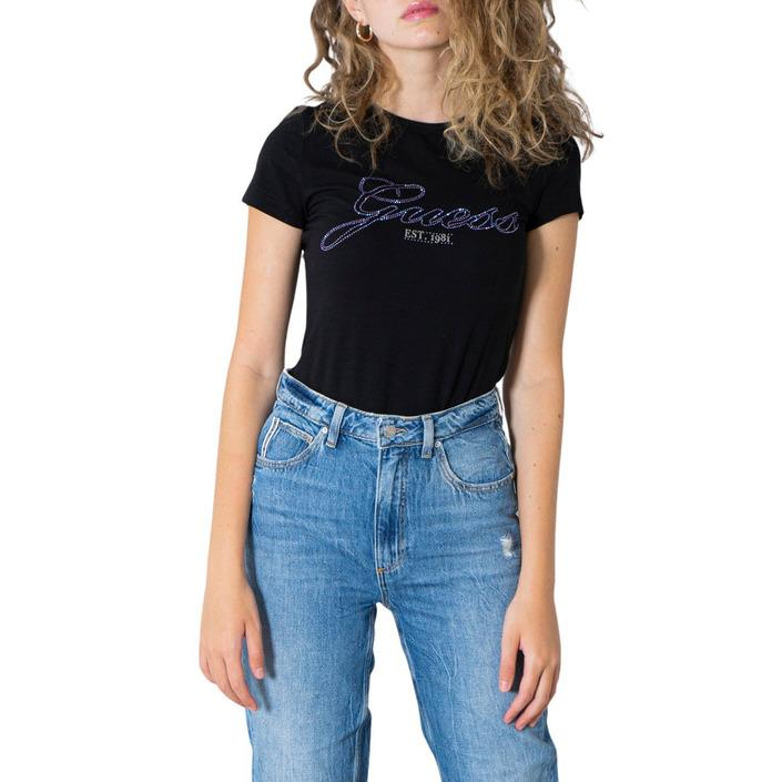 Guess Women's T-Shirt Various Colours 304925 - black XS