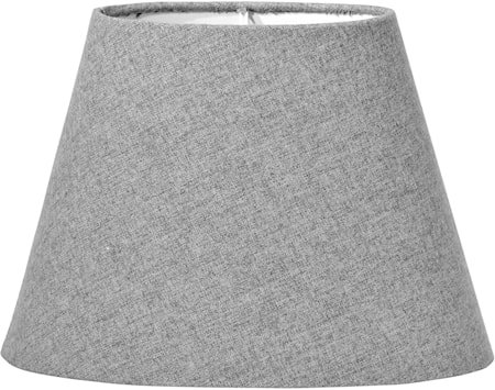 Lampeskjerm Oval Filto Grå